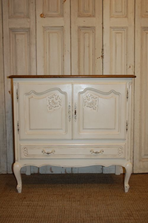 vintage french louis xv revival cabinet oak sideboard