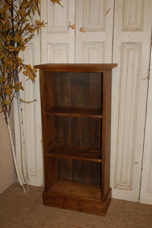 antique reclaimed mill timber furniture bookcase shelf